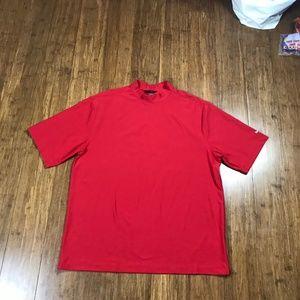 NIKE GOLF dri-fit uv Men's Shirt XXL S/S